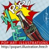 logo Pop Art et Comics illustrations et BD